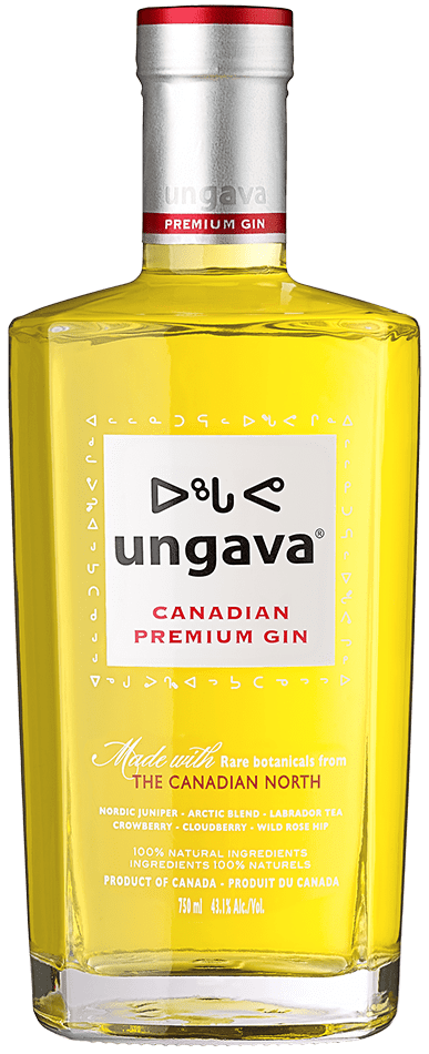 Bottle of Ungava Gin