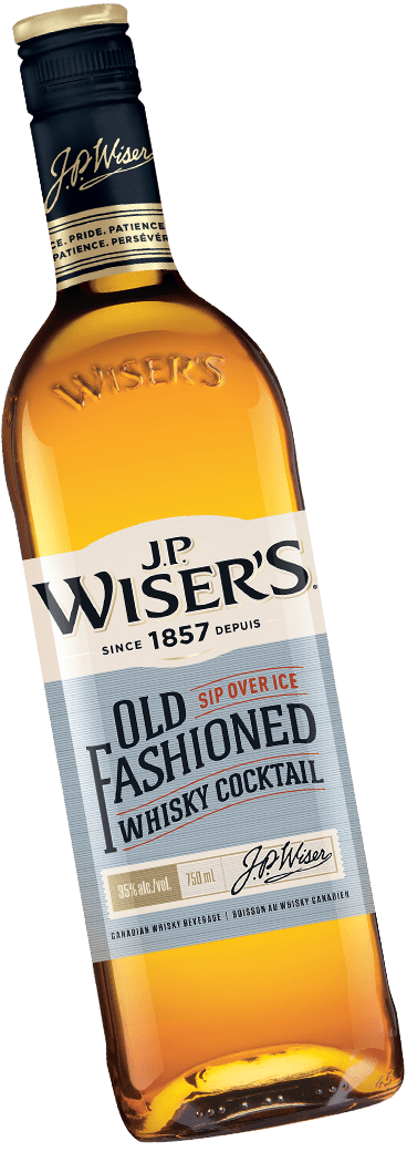 Bottle of J.P. Wiser's