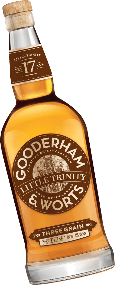 Bottle of Gooderham & Worts